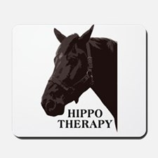 Hippo therapy (Horse Head) Mousepad