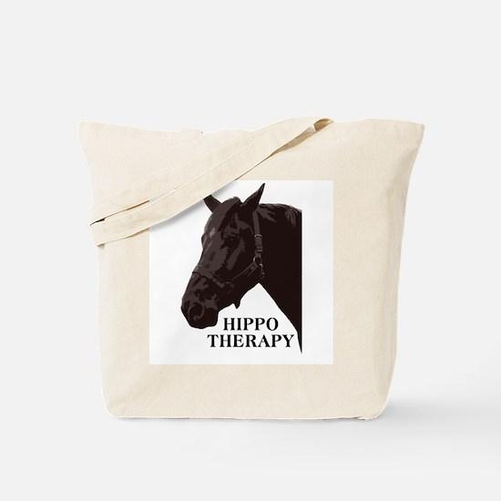 Hippo therapy (Horse Head) Tote Bag