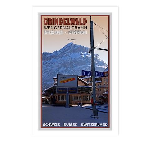 Grindelwald Postcards (Package of 8)