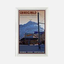 Grindelwald Rectangle Magnet
