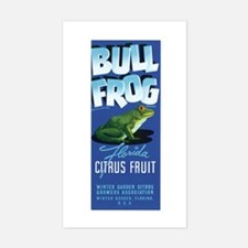 Bull Frog Decal