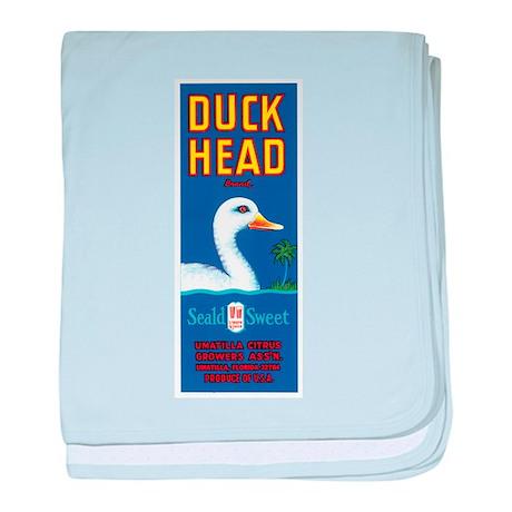 Duck Head baby blanket