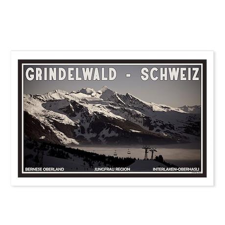 Grindelwald Fog Postcards (Package of 8)