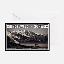 Grindelwald Fog Greeting Card