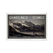 Grindelwald Fog Rectangle Magnet