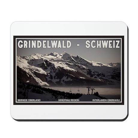 Grindelwald Fog Mousepad