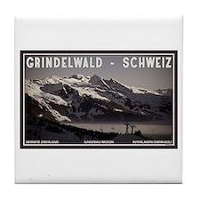 Grindelwald Fog Tile Coaster