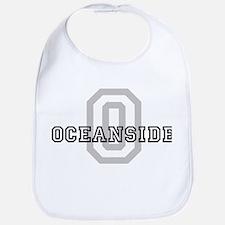Letter O: Oceanside Bib