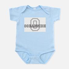 Letter O: Oceanside Infant Creeper