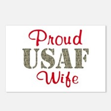 Proud USAF Home/Office Postcards (Package of 8)