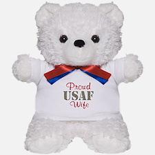 Proud USAF Home/Office Teddy Bear