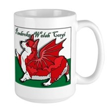 The Red Corgon! - Mug