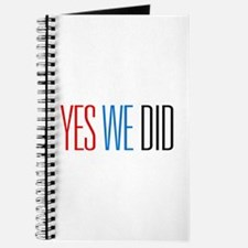 Obama Yes We Did Journal