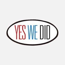 Obama Yes We Did Patches