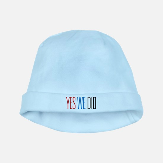Obama Yes We Did baby hat