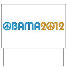 Obama Peace Sign Yard Sign