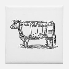 Cuts of Beef Tile Coaster