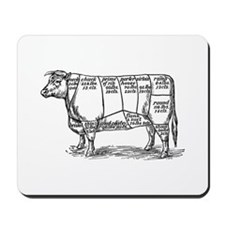 Cuts of Beef Mousepad