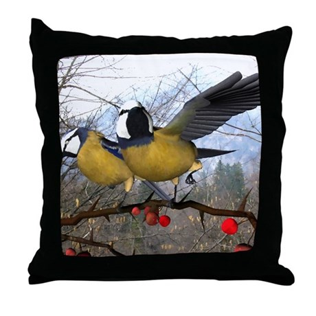 """Rise and Shine"" Throw Pillow"
