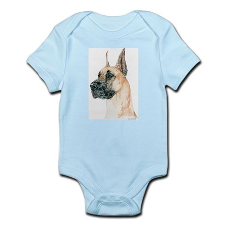 Fawn Great Dane Infant Creeper