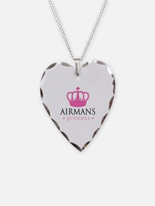 Airmans Princess - Necklace Heart Charm
