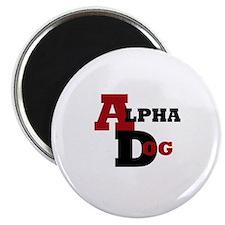 """Alpha Dog 2.25"""" Magnet (100 pack)"""