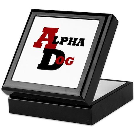 Alpha Dog Keepsake Box