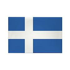 Shetland Islands Flag Rectangle Magnet