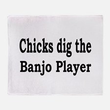 Banjo Throw Blanket