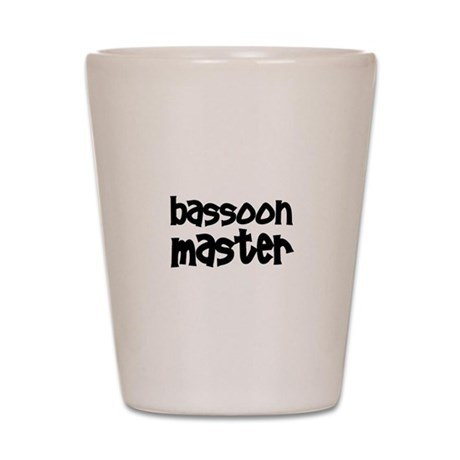 Bassoon Shot Glass