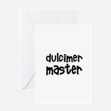 Dulcimer Greeting Card