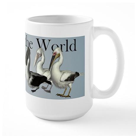 Pelicans of the World Coffee Mug