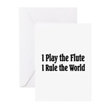 Flute Greeting Cards (Pk of 10)