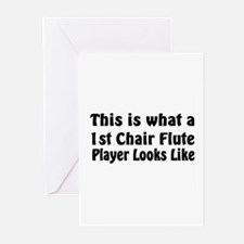 1st Chair Flute Greeting Cards (Pk of 10)