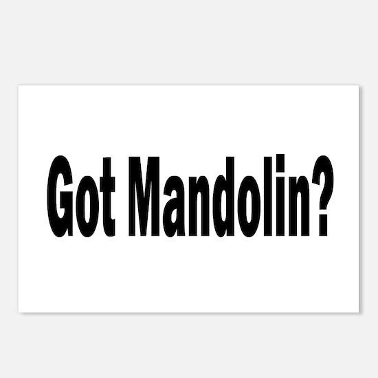 Got Mandolin? Postcards (Package of 8)