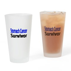 Stomach Cancer Drinking Glass