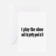 Oboe Greeting Cards (Pk of 20)