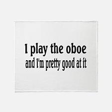 Oboe Throw Blanket