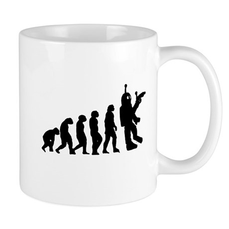Killer Robot evolution Mug