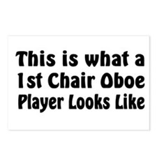 1st Chair Oboe Player Postcards (Package of 8)