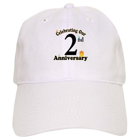 2nd Anniversary Party Gift Cap