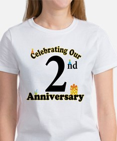 2nd Anniversary Party Gift Tee