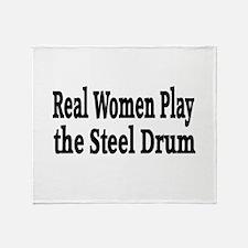 Steel Drum Throw Blanket