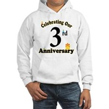 3rd Anniversary Party Gift Hoodie