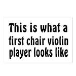Violin Postcards (Package of 8)