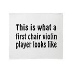 Violin Throw Blanket