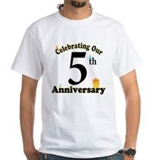 5th Anniversary Party Gift Shirt