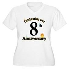 8th Anniversary Party Gift T-Shirt