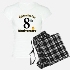 8th Anniversary Party Gift Pajamas