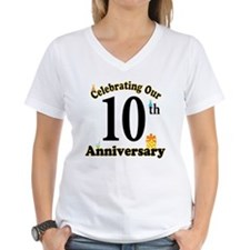 10th Anniversary Party Gift Shirt